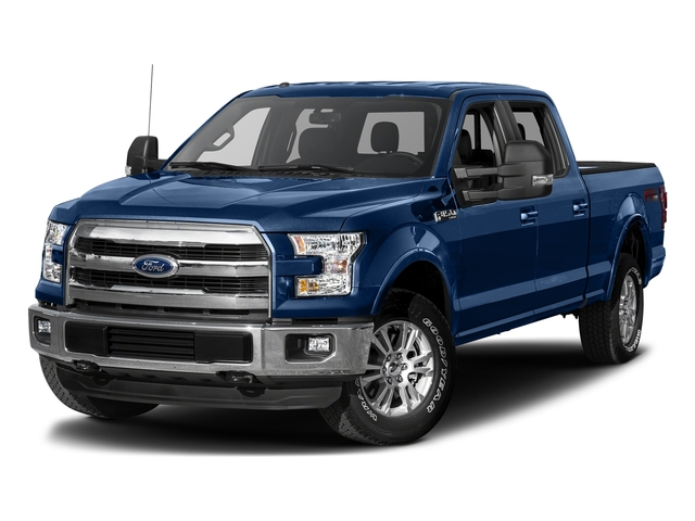 Lightning Blue 2017 Ford F-150 Pictures F-150 Crew Cab Lariat 4WD photos front view