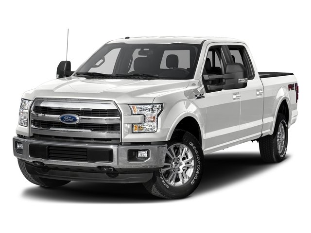 Oxford White 2017 Ford F-150 Pictures F-150 Crew Cab Lariat 4WD photos front view