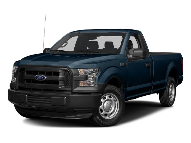Blue Jeans Metallic 2017 Ford F-150 Pictures F-150 Regular Cab XL 4WD photos front view