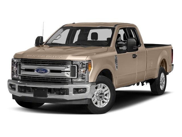 White Gold Metallic 2017 Ford Super Duty F-350 SRW Pictures Super Duty F-350 SRW Supercab XLT 2WD photos front view