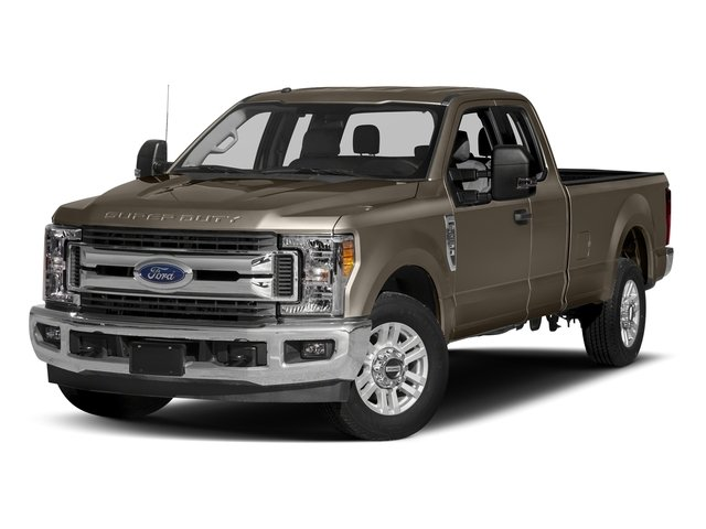 Caribou Metallic 2017 Ford Super Duty F-350 SRW Pictures Super Duty F-350 SRW Supercab XLT 2WD photos front view