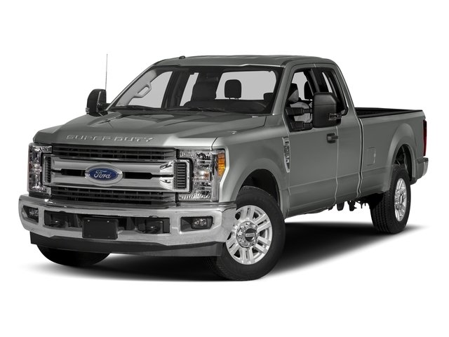 Magnetic Metallic 2017 Ford Super Duty F-350 SRW Pictures Super Duty F-350 SRW Supercab XLT 2WD photos front view