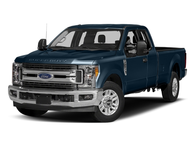 Blue Jeans Metallic 2017 Ford Super Duty F-350 SRW Pictures Super Duty F-350 SRW Supercab XLT 2WD photos front view