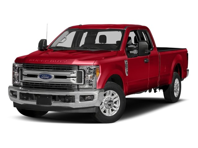 Race Red 2017 Ford Super Duty F-250 SRW Pictures Super Duty F-250 SRW Supercab XLT 2WD photos front view
