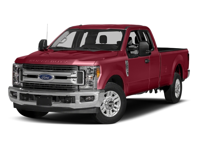 Ruby Red Metallic Tinted Clearcoat 2017 Ford Super Duty F-350 SRW Pictures Super Duty F-350 SRW Supercab XLT 2WD photos front view