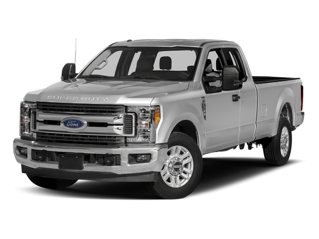 Ingot Silver Metallic 2017 Ford Super Duty F-350 SRW Pictures Super Duty F-350 SRW Supercab XLT 2WD photos front view