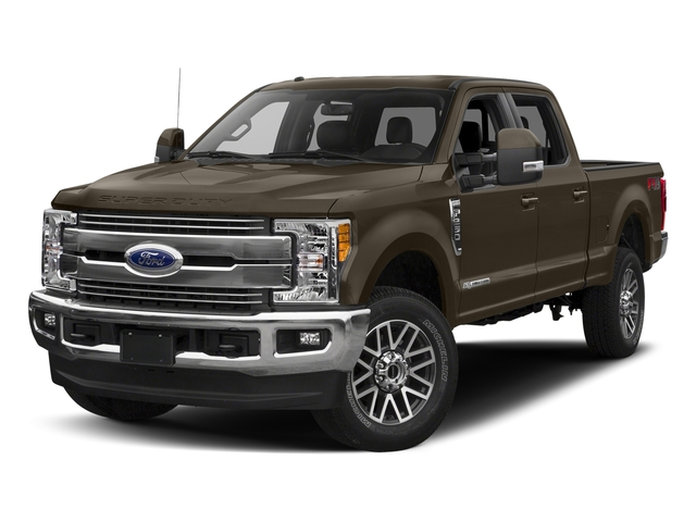 Caribou Metallic 2017 Ford Super Duty F-250 SRW Pictures Super Duty F-250 SRW Crew Cab Lariat 4WD photos front view