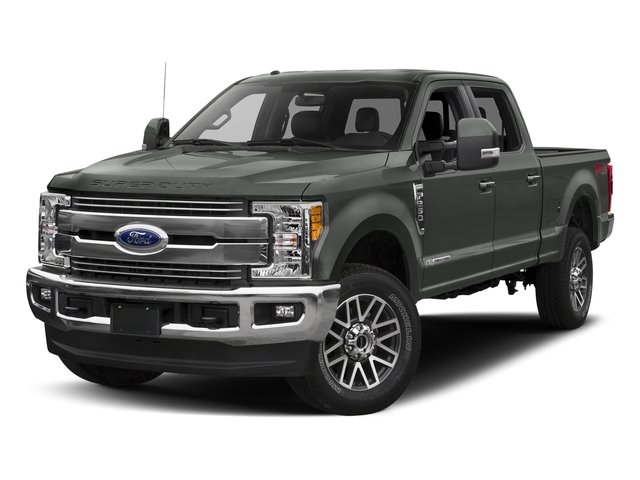 Magnetic Metallic 2017 Ford Super Duty F-250 SRW Pictures Super Duty F-250 SRW Crew Cab Lariat 4WD photos front view