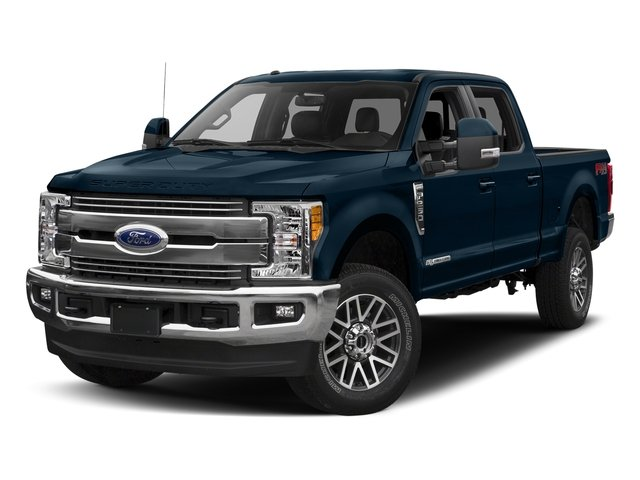 Blue Jeans Metallic 2017 Ford Super Duty F-250 SRW Pictures Super Duty F-250 SRW Crew Cab Lariat 4WD photos front view
