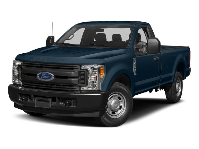 Blue Jeans Metallic 2017 Ford Super Duty F-250 SRW Pictures Super Duty F-250 SRW Regular Cab XL 2WD photos front view