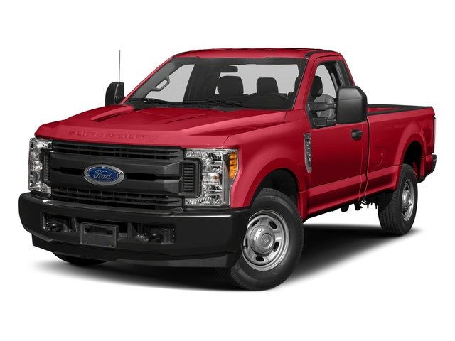 Race Red 2017 Ford Super Duty F-250 SRW Pictures Super Duty F-250 SRW Regular Cab XL 2WD photos front view