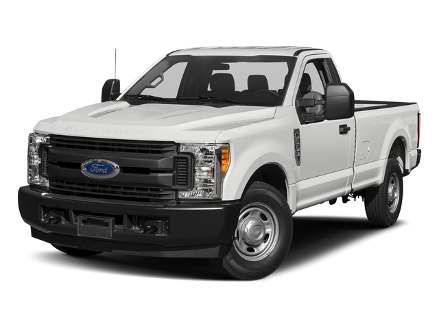 Oxford White 2017 Ford Super Duty F-250 SRW Pictures Super Duty F-250 SRW Regular Cab XL 2WD photos front view