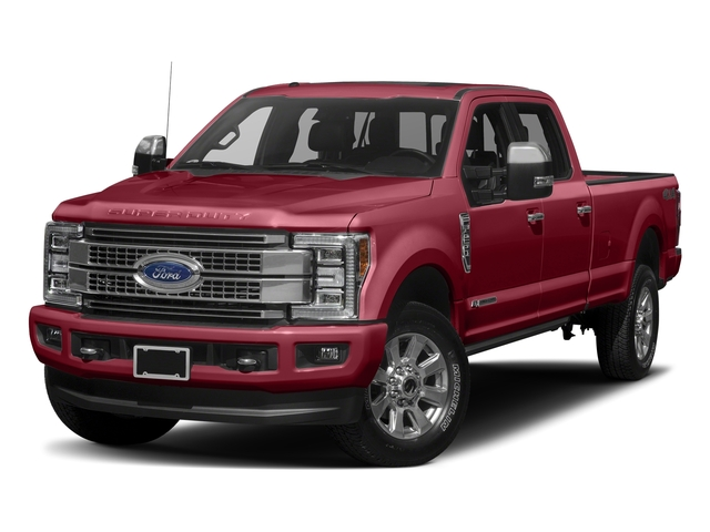 Ruby Red Metallic Tinted Clearcoat 2017 Ford Super Duty F-250 SRW Pictures Super Duty F-250 SRW Crew Cab Platinum 4WD photos front view