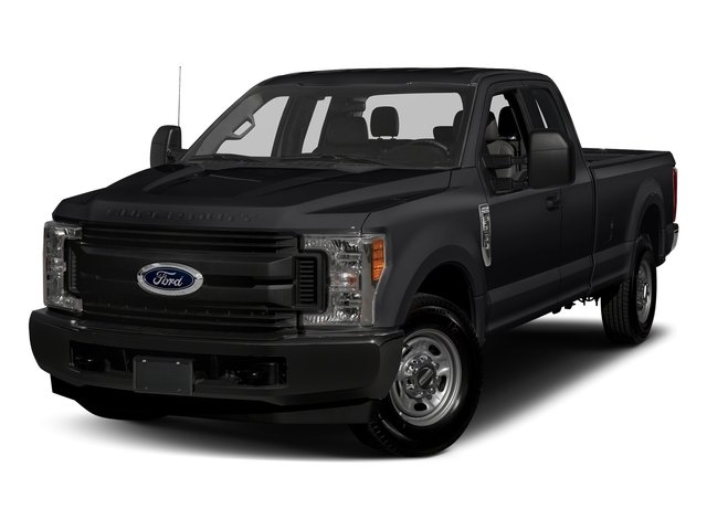 Shadow Black 2017 Ford Super Duty F-350 SRW Pictures Super Duty F-350 SRW Supercab XL 4WD photos front view