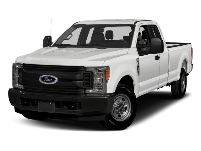 Oxford White 2017 Ford Super Duty F-350 SRW Pictures Super Duty F-350 SRW Supercab XL 4WD photos front view