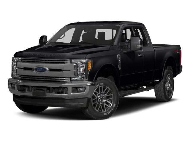 Shadow Black 2017 Ford Super Duty F-350 SRW Pictures Super Duty F-350 SRW Supercab Lariat 2WD photos front view