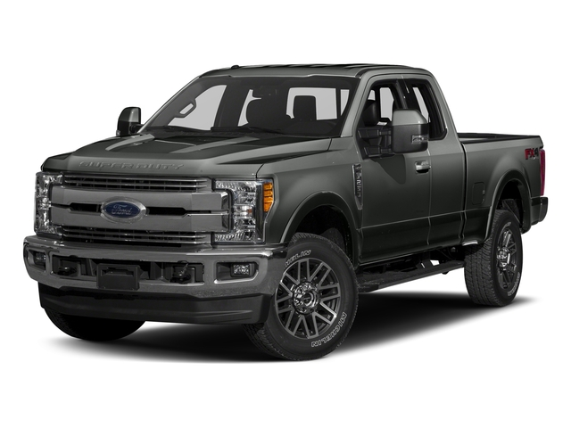 Magnetic Metallic 2017 Ford Super Duty F-350 SRW Pictures Super Duty F-350 SRW Supercab Lariat 2WD photos front view