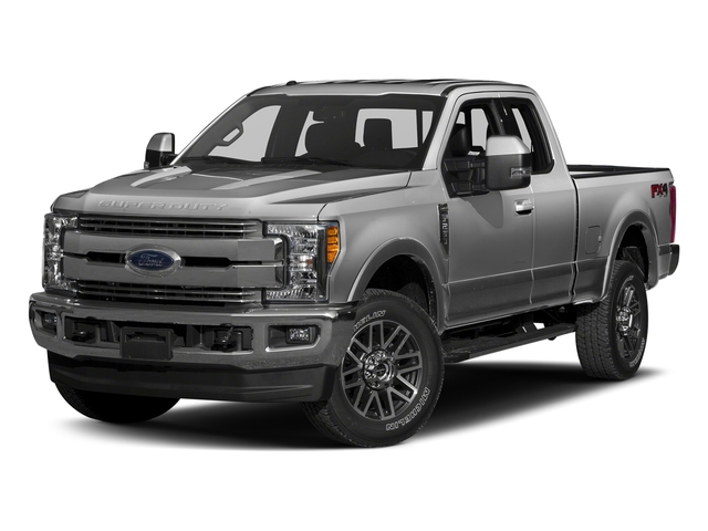 Ingot Silver Metallic 2017 Ford Super Duty F-350 SRW Pictures Super Duty F-350 SRW Supercab Lariat 2WD photos front view