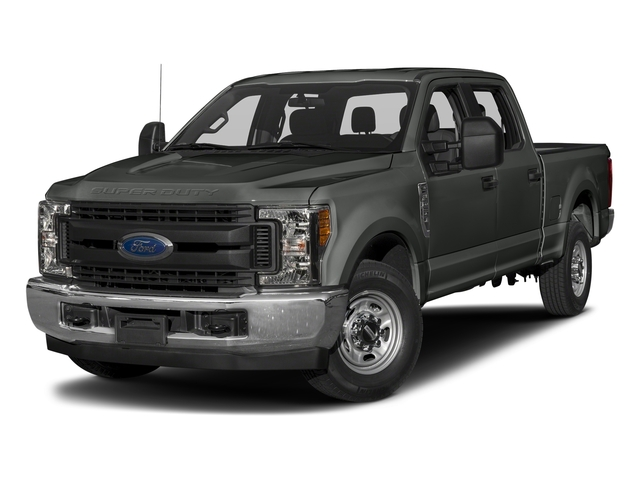 Magnetic Metallic 2017 Ford Super Duty F-250 SRW Pictures Super Duty F-250 SRW Crew Cab XL 4WD photos front view