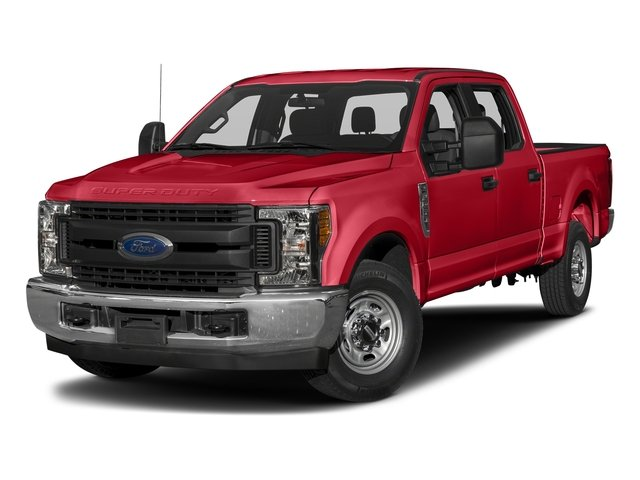 Race Red 2017 Ford Super Duty F-250 SRW Pictures Super Duty F-250 SRW Crew Cab XL 4WD photos front view