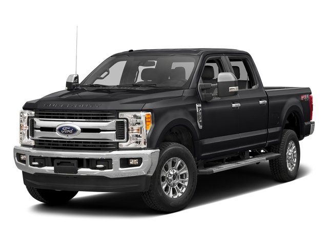 Shadow Black 2017 Ford Super Duty F-350 SRW Pictures Super Duty F-350 SRW Crew Cab XLT 4WD photos front view