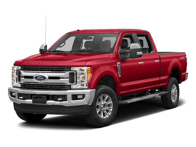 Race Red 2017 Ford Super Duty F-350 SRW Pictures Super Duty F-350 SRW Crew Cab XLT 4WD photos front view