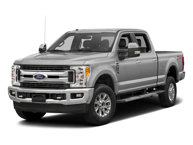 Ingot Silver Metallic 2017 Ford Super Duty F-350 SRW Pictures Super Duty F-350 SRW Crew Cab XLT 4WD photos front view