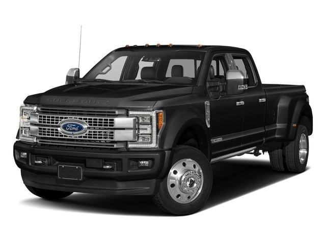 Shadow Black 2017 Ford Super Duty F-450 DRW Pictures Super Duty F-450 DRW Crew Cab Platinum 4WD T-Diesel photos front view