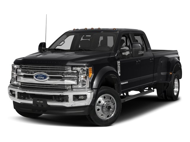 Shadow Black 2017 Ford Super Duty F-450 DRW Pictures Super Duty F-450 DRW Crew Cab Lariat 4WD T-Diesel photos front view