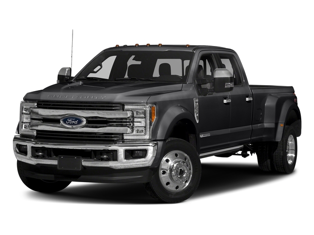 Shadow Black 2017 Ford Super Duty F-450 DRW Pictures Super Duty F-450 DRW Crew Cab King Ranch 4WD T-Diesel photos front view