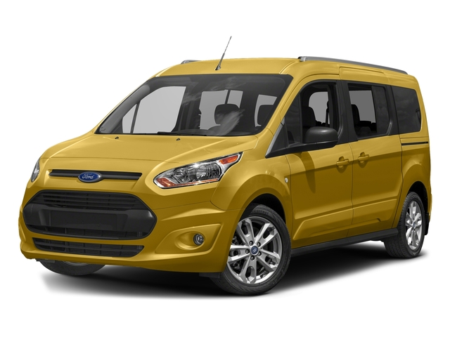 Solar Metallic 2017 Ford Transit Connect Wagon Pictures Transit Connect Wagon Extended Passenger Van XLT photos front view