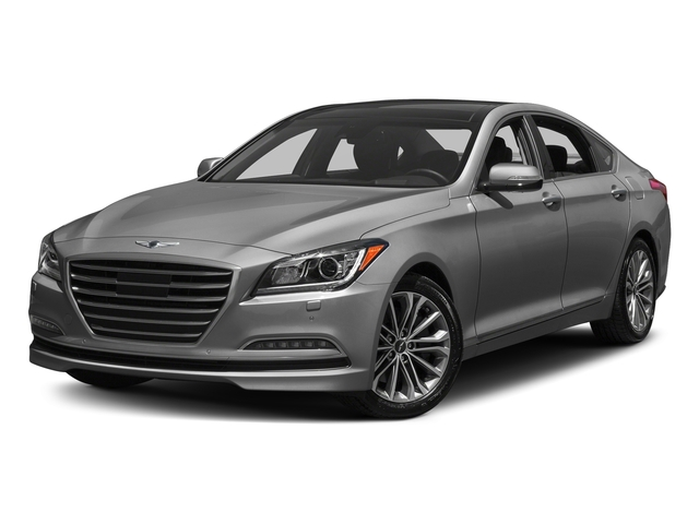 Himalayan Gray 2017 Genesis G80 Pictures G80 3.8L AWD photos front view