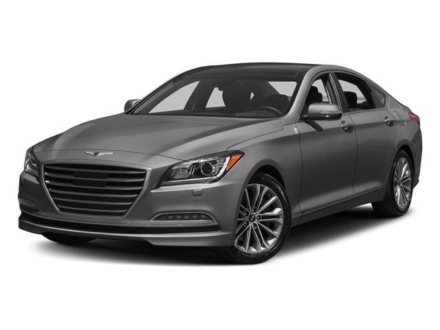 Empire St Gray Metallic 2017 Genesis G80 Pictures G80 3.8L AWD photos front view