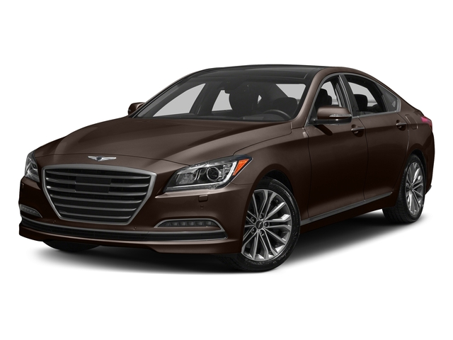 Manhattan Brown 2017 Genesis G80 Pictures G80 3.8L AWD photos front view