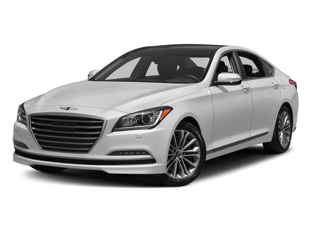 Casablanca White 2017 Genesis G80 Pictures G80 3.8L AWD photos front view