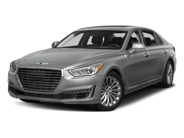 Santiago Silver Metallic 2017 Genesis G90 Pictures G90 5.0L Ultimate RWD photos front view