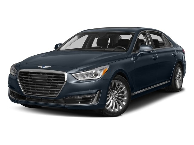 Patagonia Blue Metallic 2017 Genesis G90 Pictures G90 5.0L Ultimate RWD photos front view
