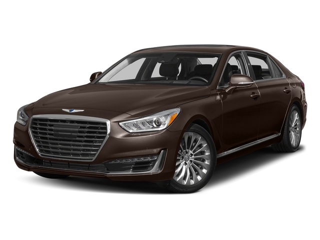 Manhattan Brown 2017 Genesis G90 Pictures G90 5.0L Ultimate RWD photos front view