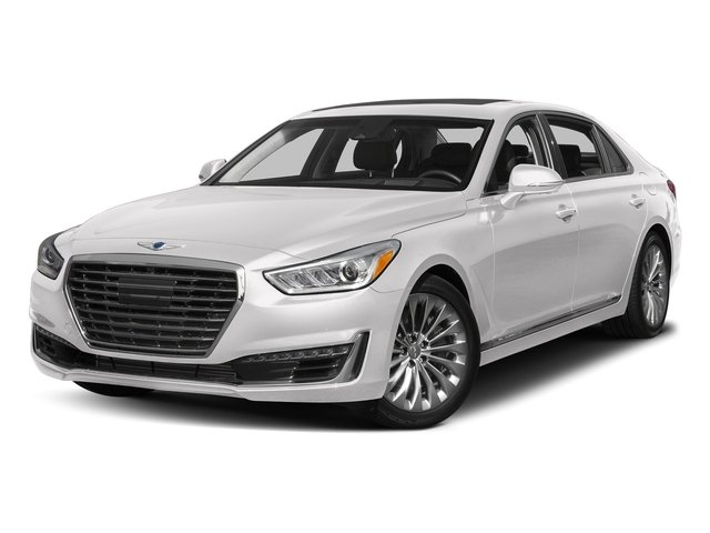 Casablanca White 2017 Genesis G90 Pictures G90 5.0L Ultimate RWD photos front view