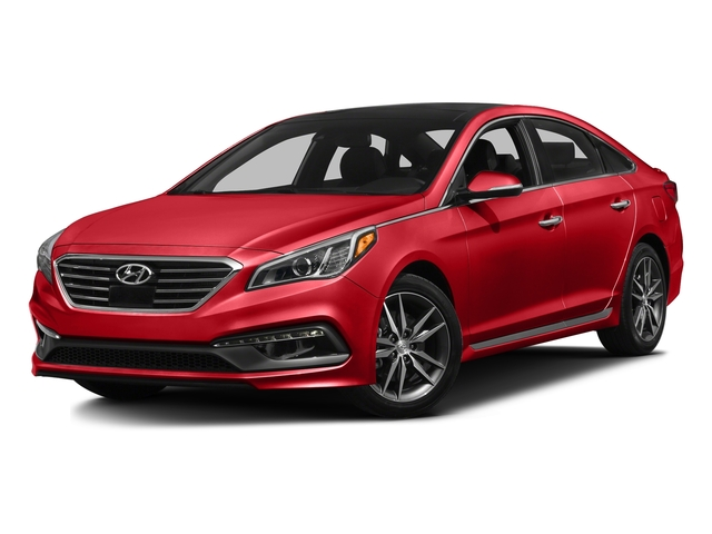 Scarlet Red 2017 Hyundai Sonata Pictures Sport 2 0t W Black Photos Front View