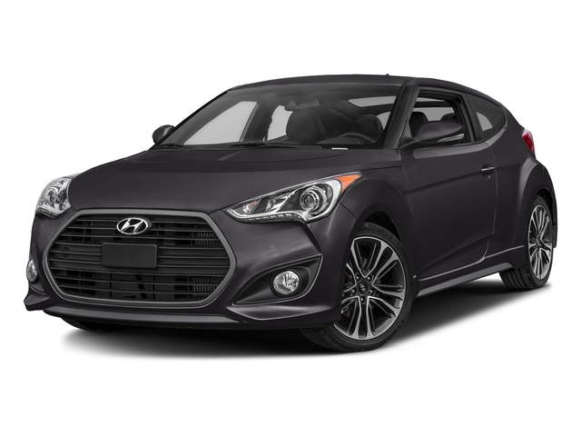 Ultra Black Pearl 2017 Hyundai Veloster Pictures Veloster Turbo Manual photos front view