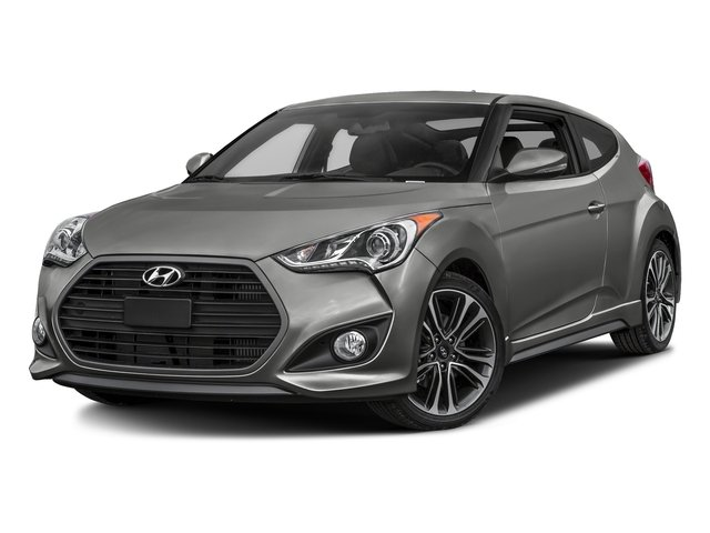 Ironman Silver Metallic 2017 Hyundai Veloster Pictures Veloster Turbo Manual photos front view