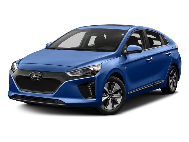 Electric Blue Metallic 2017 Hyundai Ioniq Electric Pictures Ioniq Electric Limited Hatchback photos front view