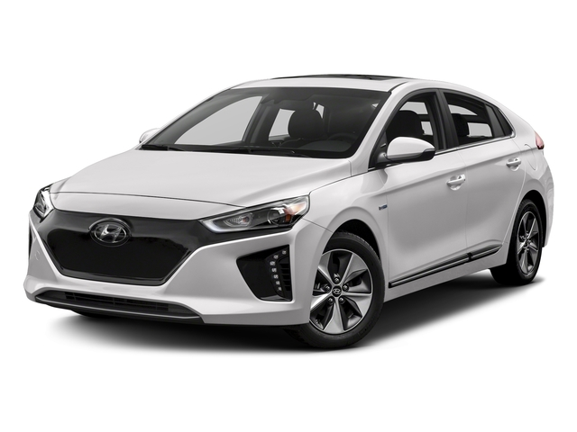 Ceramic White 2017 Hyundai Ioniq Electric Pictures Ioniq Electric Limited Hatchback photos front view