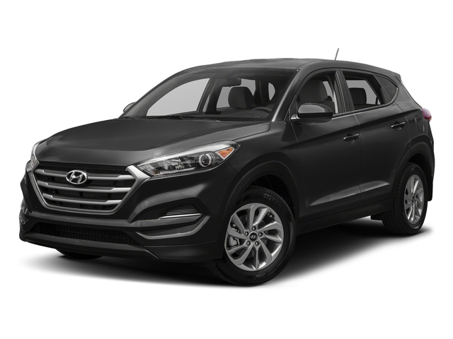Black Noir Pearl 2017 Hyundai Tucson Pictures Tucson SE AWD photos front view