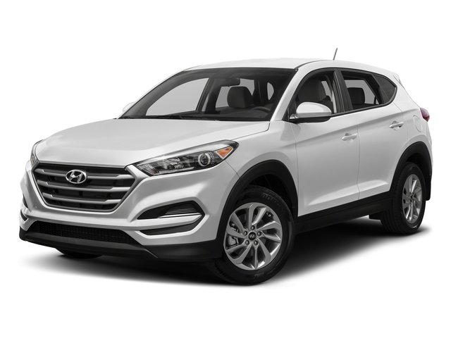 Winter White 2017 Hyundai Tucson Pictures Tucson SE AWD photos front view