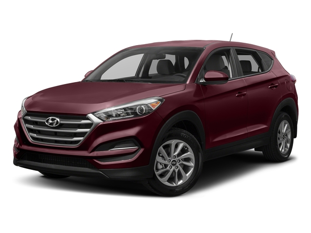 Ruby Wine 2017 Hyundai Tucson Pictures Tucson SE AWD photos front view