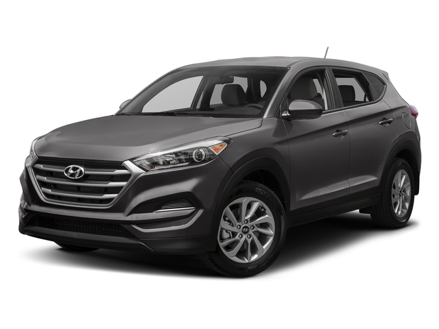 Coliseum Gray 2017 Hyundai Tucson Pictures Tucson SE AWD photos front view