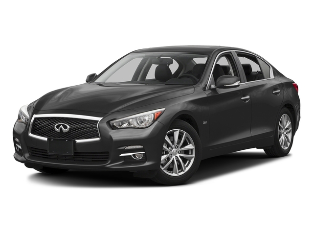 Graphite Shadow 2017 INFINITI Q50 Pictures Q50 3.0t Signature Edition AWD photos front view