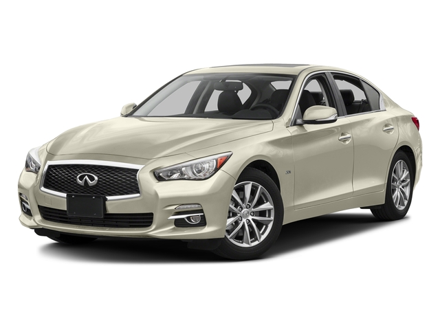 Majestic White 2017 INFINITI Q50 Pictures Q50 3.0t Signature Edition AWD photos front view